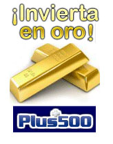 Invertir en Oro Plus500